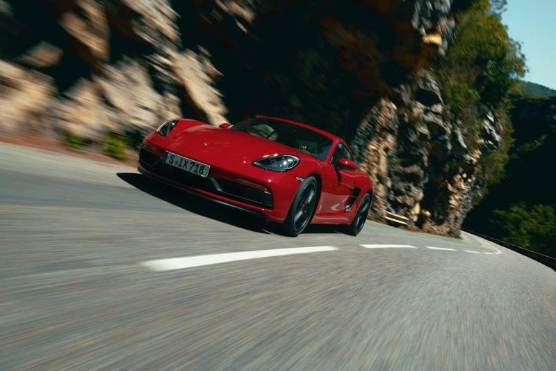 Cover for 2021 Porsche 718 Cayman and Boxster GTS get 4.0 flat-six again