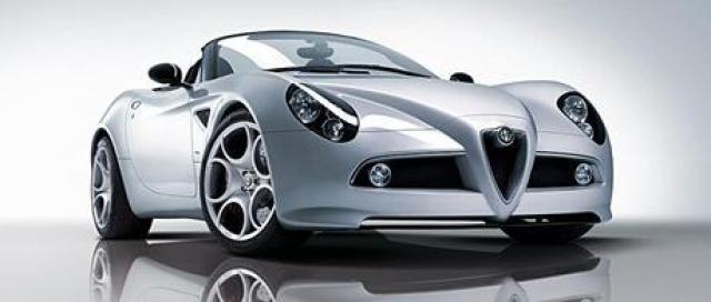Image of Alfa Romeo 8C Competizione Spider