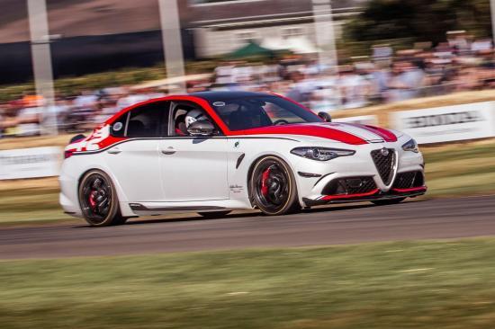 Image of Alfa Romeo Giulia QV Racing Edition