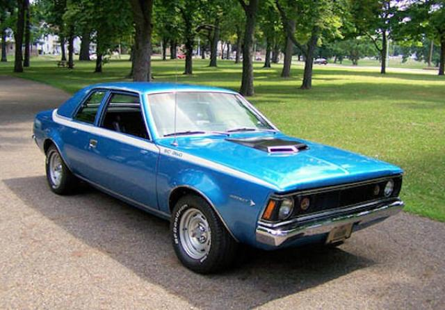 AMC Hornet S/C 360 Go Package laptimes, specs, performance