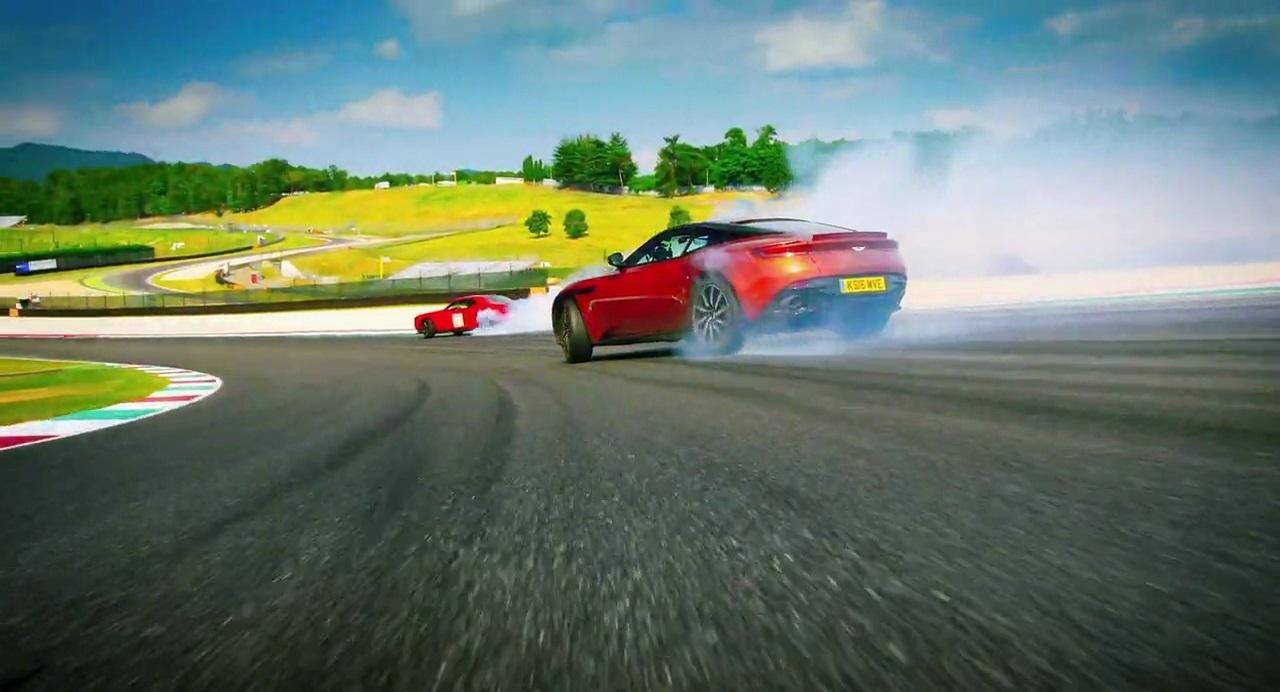Aston Martin Db11 Beats Dodge Challenger Hellcat In A