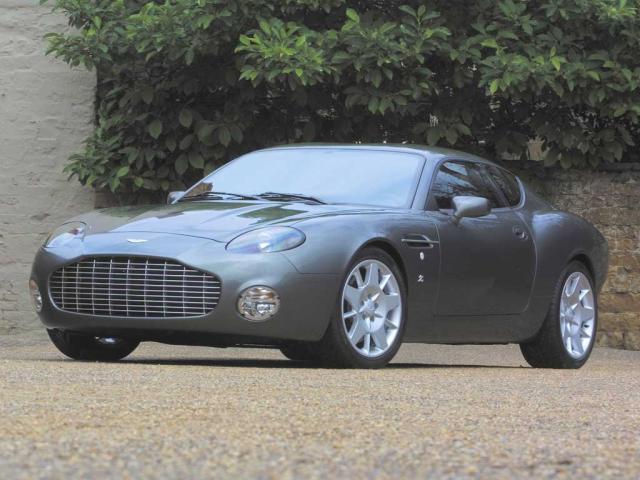 Image of Aston Martin DB7 Vantage Zagato Coupe