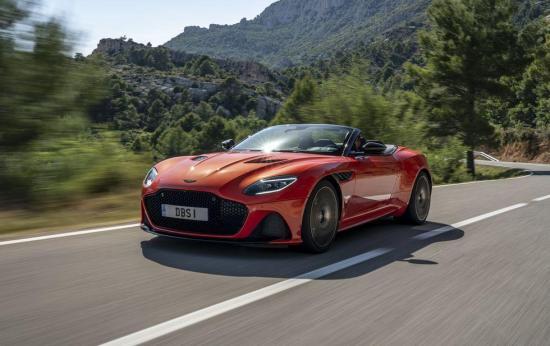 Image of Aston Martin DBS Superleggera Volante