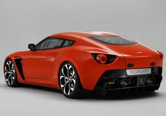Image of Aston Martin V12 Vantage Zagato