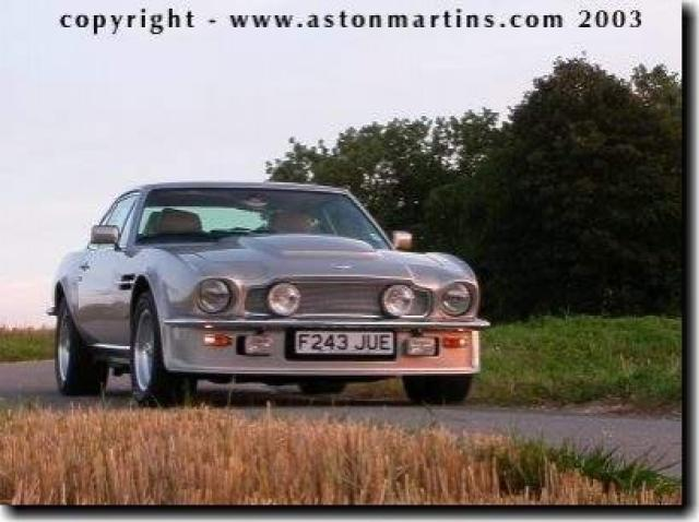 Aston Martin V8 Vantage X Pack Works Conversion Laptimes Specs
