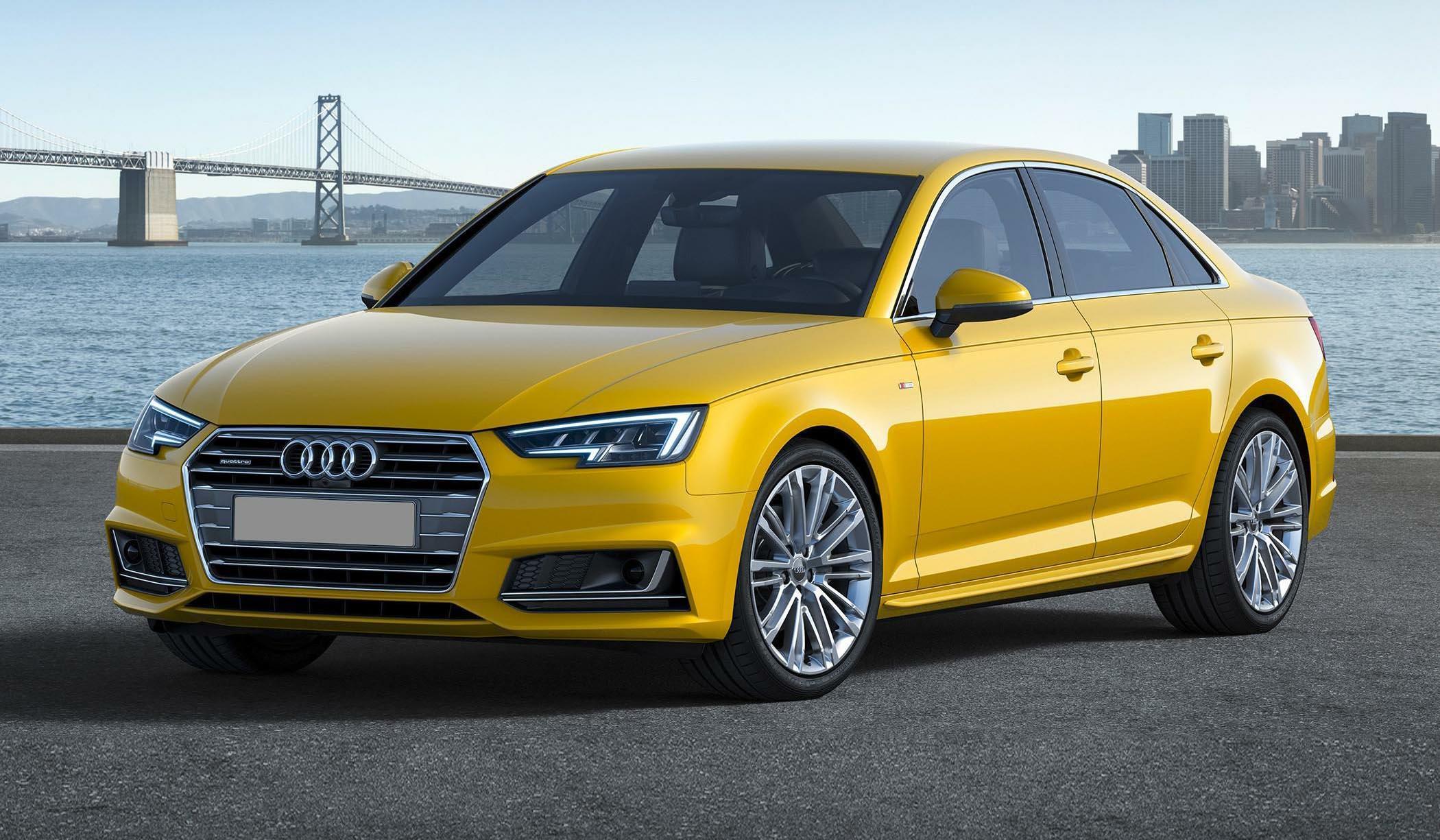 Audi A4 2 0 TDI B9 laptimes, specs, performance data