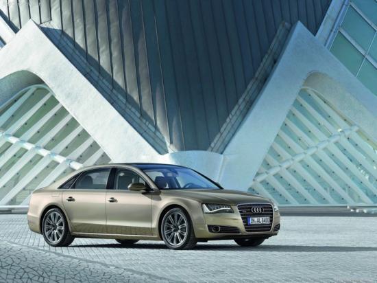 Image of Audi A8 L 3.0 TFSI