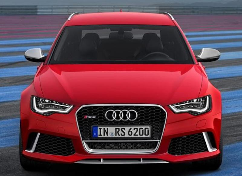Cover for Audi's new RS6 - still no 600 horses