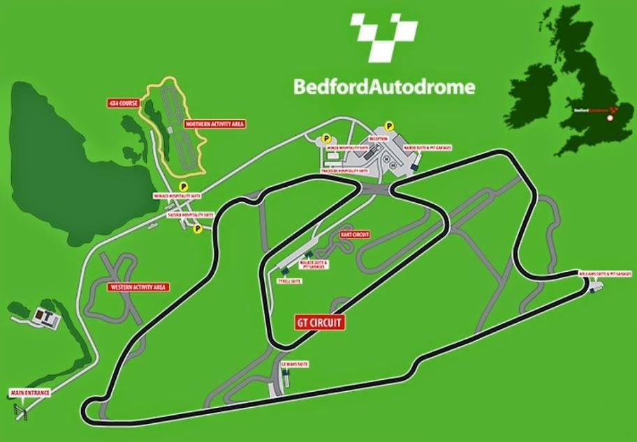Bedford Autodrome Gp Lap Times Fastestlaps Com