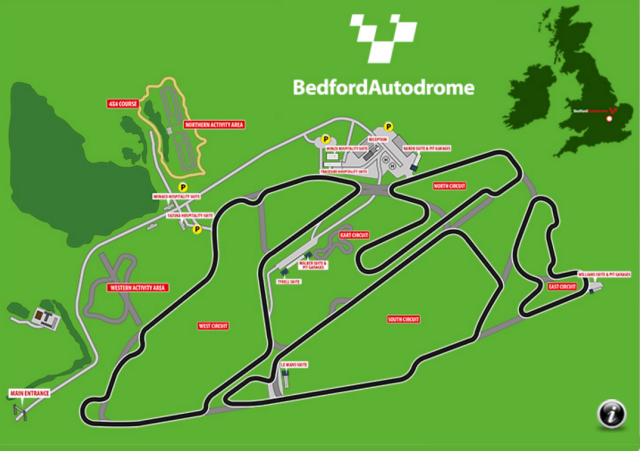 Image of Bedford Autodrome West Circuit (post 06/2008)