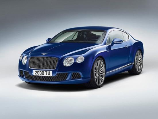Image of Bentley Continental GT Speed