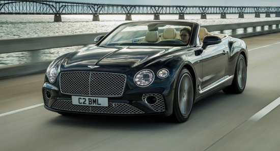 Image of Bentley Continental GTC V8
