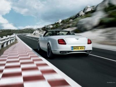 Image of Bentley Continental Supersports Convertible