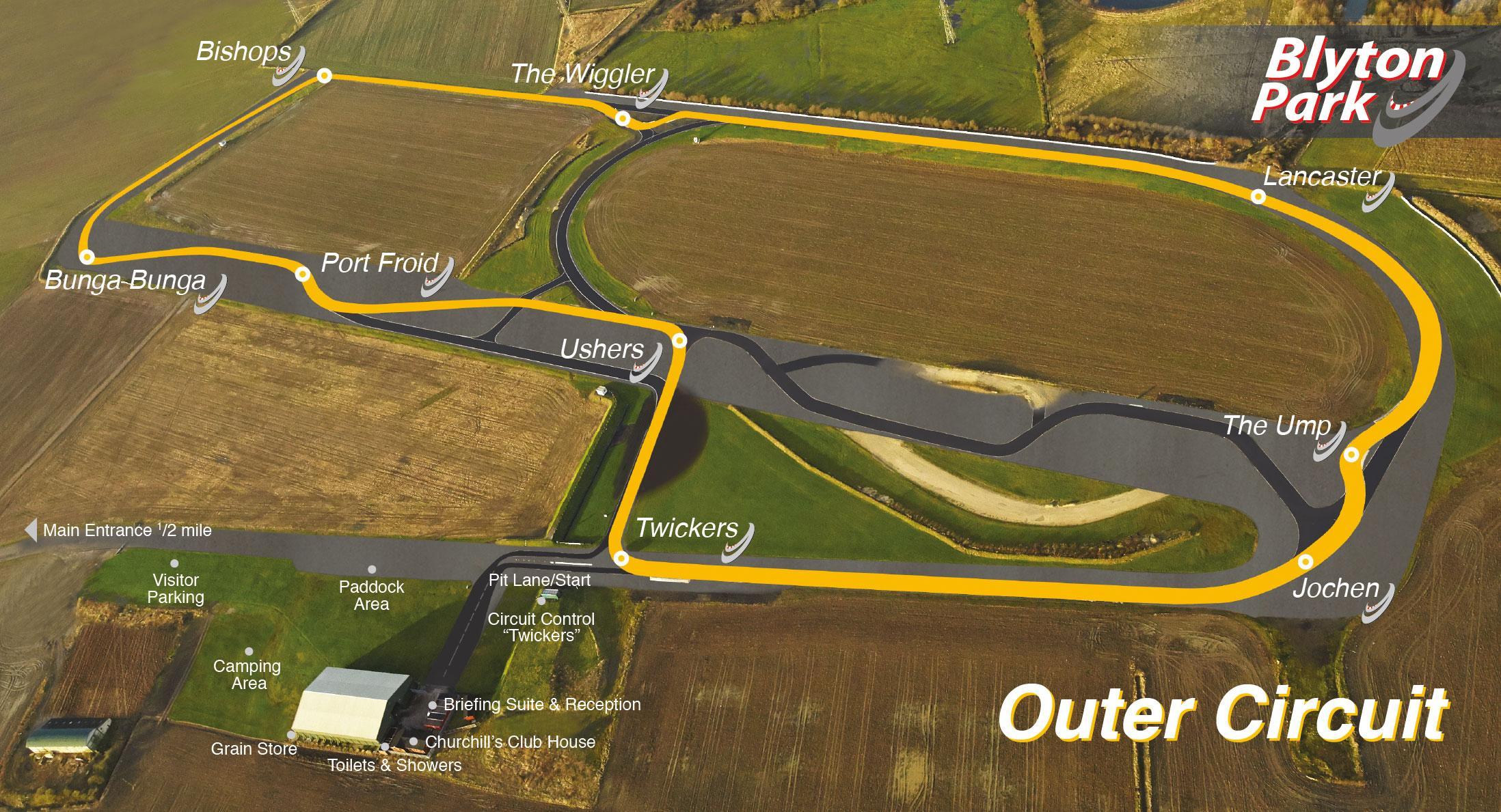 Jaguar F Type S >> Blyton Park Outer Circuit lap times - FastestLaps.com