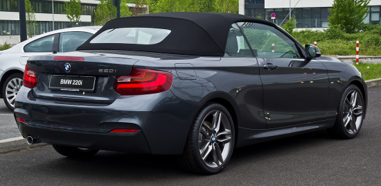 Image of BMW 228i convertible
