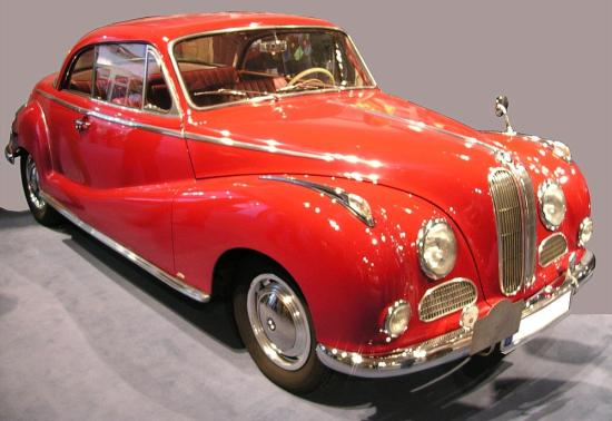 Image of BMW 502 Coupe
