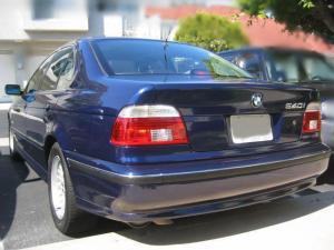 Photo of BMW 540i