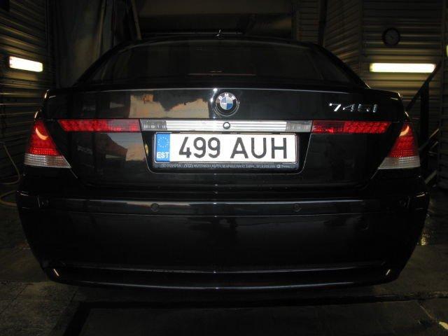 745i 2004 hp