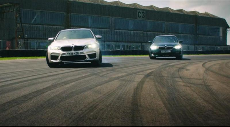 Cover for BMW M5 F90 and Alpina B5 Biturbo at the Grand Tour test track