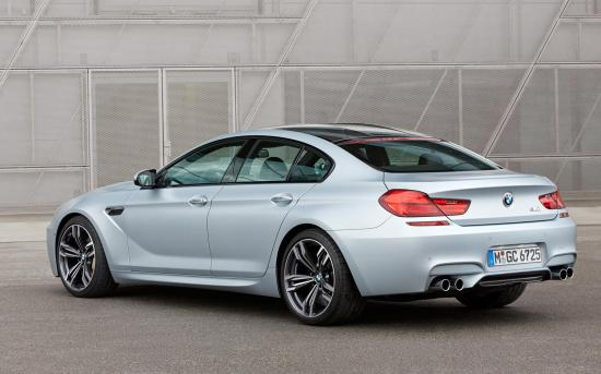 Image of BMW M6 Gran Coupe Competition