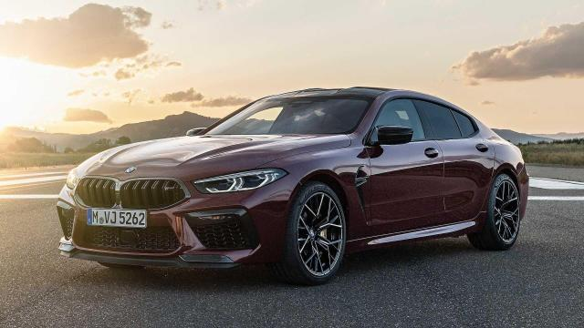 Image of BMW M8 Gran Coupe Competition