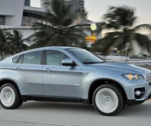 Picture of BMW X6 ActiveHybrid