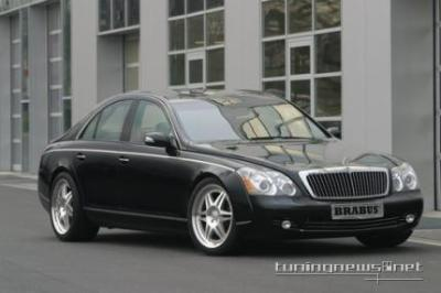 Image of Brabus Maybach SV12