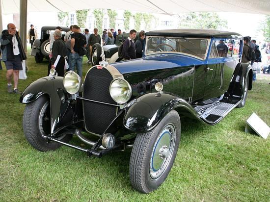 Image of Bugatti Type 41 Royale Kellner Coach