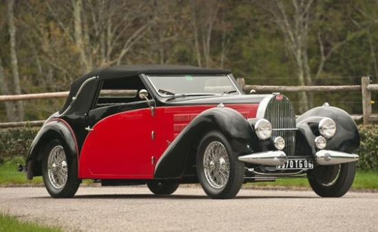 Image of Bugatti Type 57 C Stelvio Drophead Coupe
