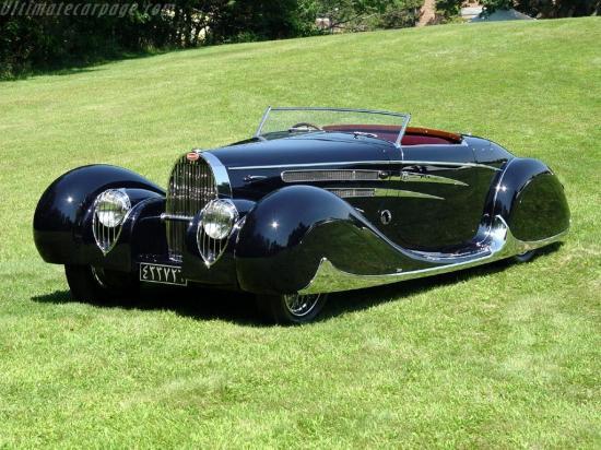 Image of Bugatti Type 57 C Vanvooren Cabriolet
