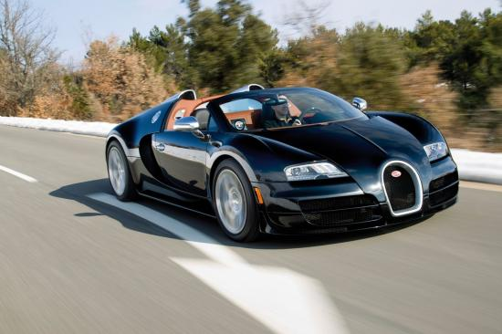 Image of Bugatti Veyron Grand Sport Vitesse