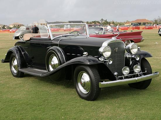 Image of Cadillac 452 B V16 Fisher Convertible Coupe