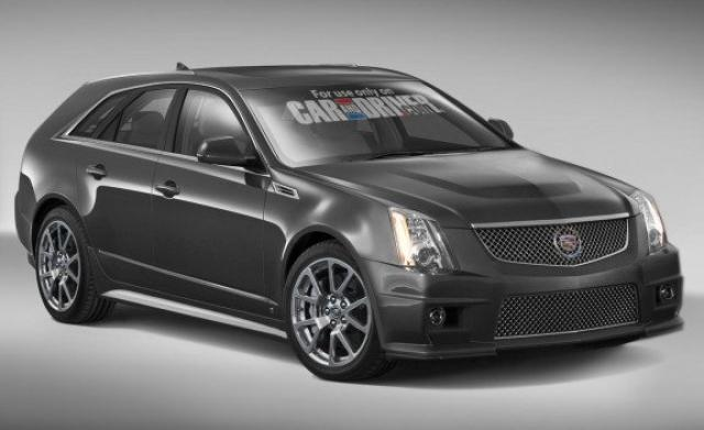 Image of Cadillac CTS-V Sport Wagon