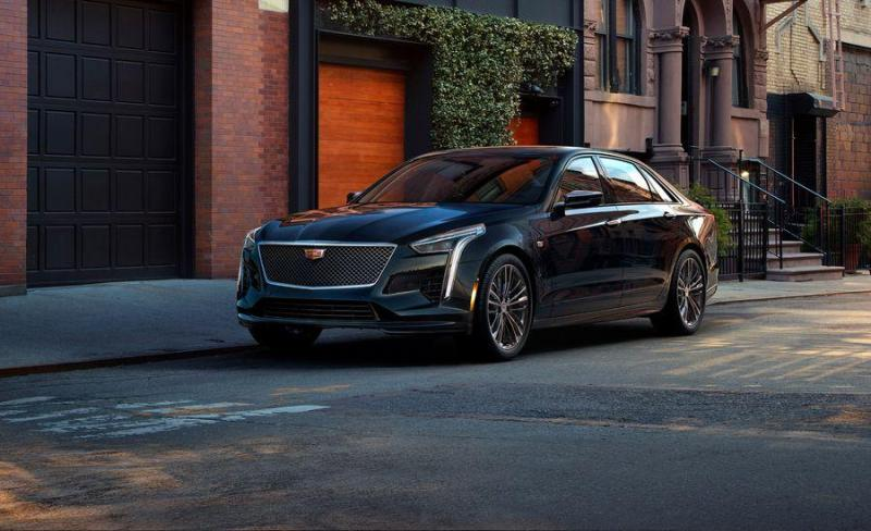 Cover for Cadillac reveals true M5 and AMG E63 rival called CT6 V-Sport