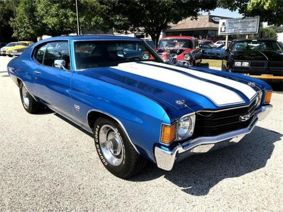 Image of Chevrolet Chevelle SS-454 Coupe