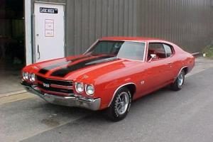 Picture of Chevrolet Chevelle SS 454 (LS6 engine)