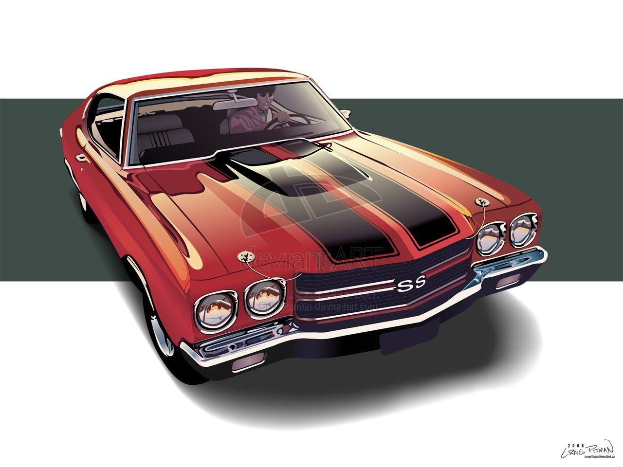 Chevrolet Chevelle SS LS6 Long Ratio laptimes, specs, performance
