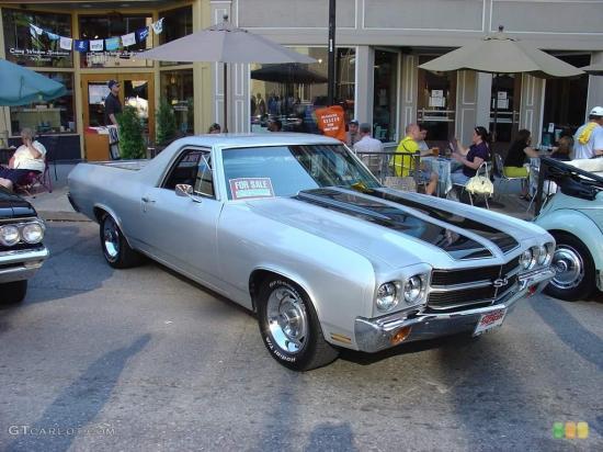 Image of Chevrolet El Camino SS LS6