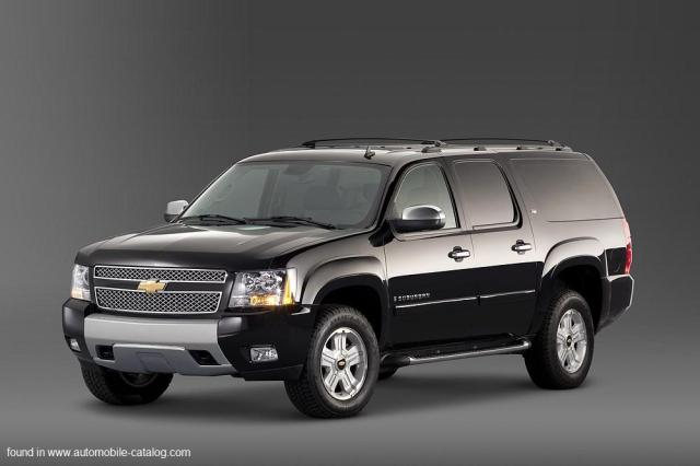 Image of Chevrolet Suburban 1500 LT 4WD