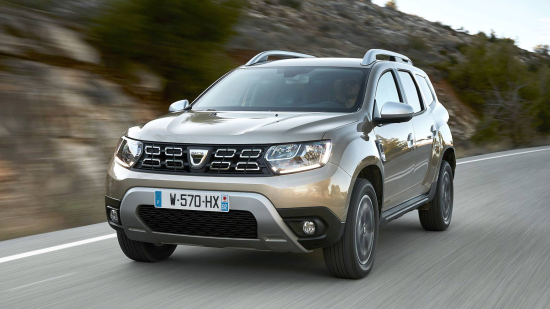 Image of Dacia Duster Blue dCi 115