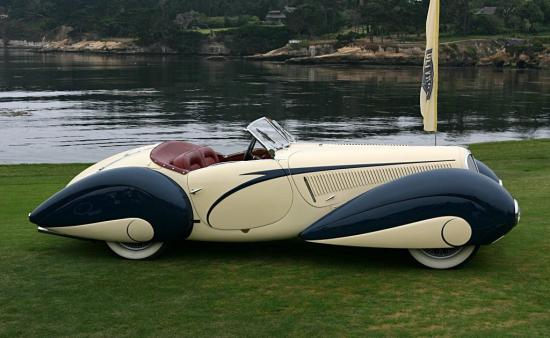 Image of Delahaye 135 Competition Court Figoni & Falaschi Torpedo