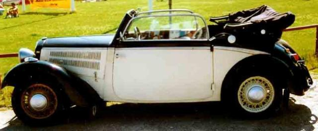 Image of DKW F7 Front Luxus Cabriolet
