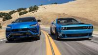 Cover for Dodge Challanger VS Lamborghini Urus