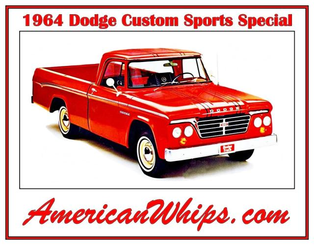 Image of Dodge Custom Sport Special