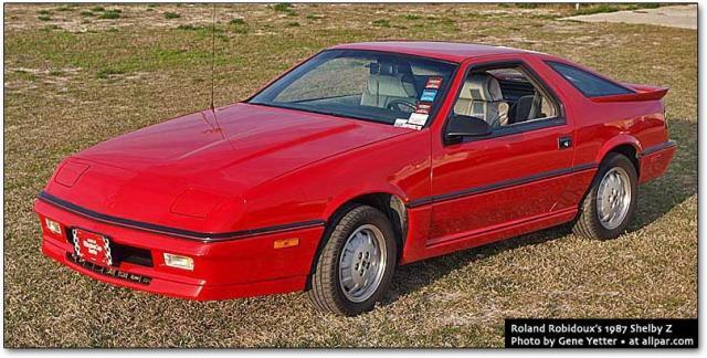 Image of Dodge Daytona Shelby Z