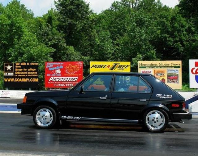 Image of Dodge Omni GLHS