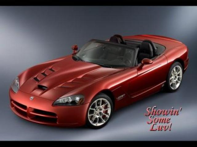 Image of Dodge Viper SRT-10 Roadster