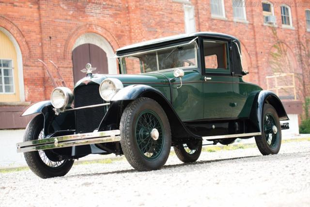 Image of Duesenberg Model A Fleetwood Coupe