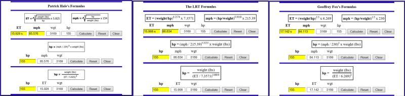 Cover for ET Formulas