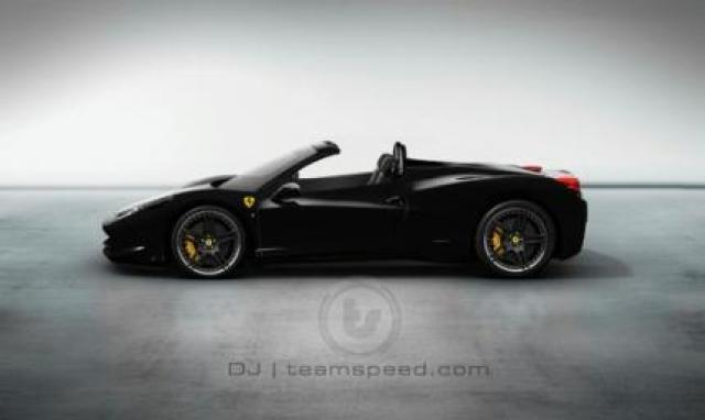 Image of Ferrari 458 Italia Spider
